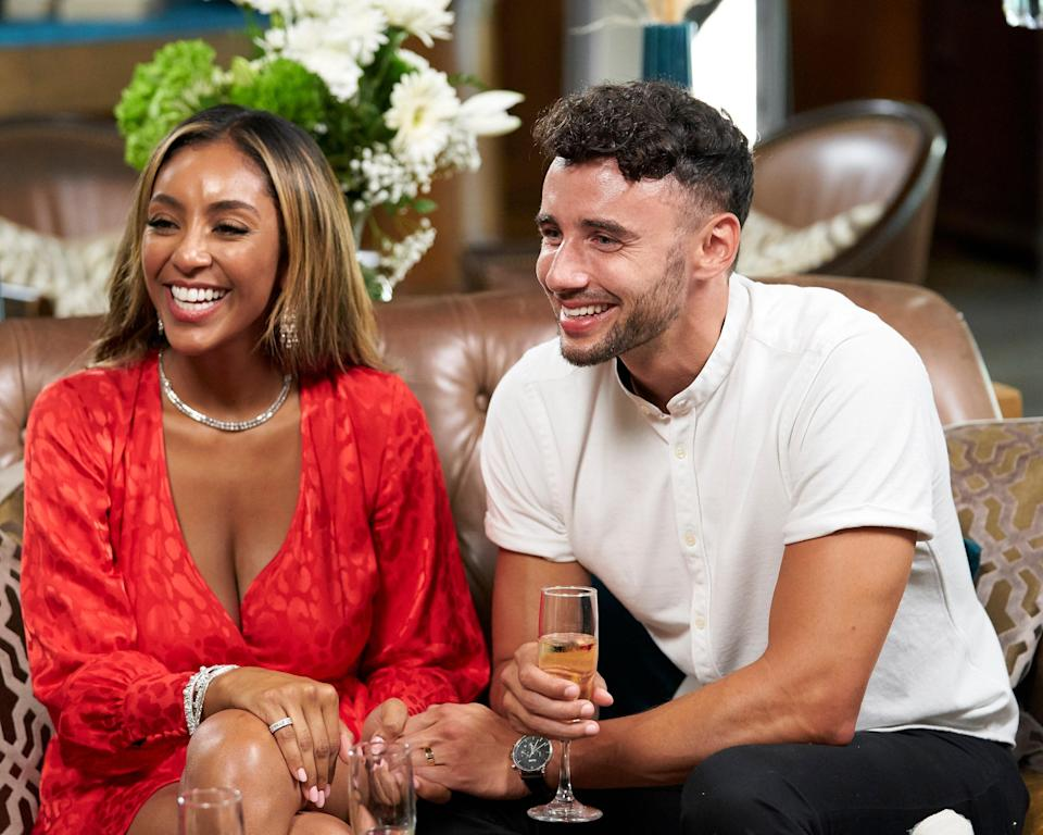 "<p>If you want shows like <em>The</em> <em>Bachelor,</em> why not watch…old seasons of <em>The Bachelor</em> or <em>The Bachelorette</em>? While you wait for James's <em>Bachelor</em> season, relive all the moments that made you a fan of this franchise. Good news: Many of the seasons are available for streaming, so what are you waiting for?</p> <p><em>Stream it on</em> <a href=""https://www.amazon.com/The-Bachelor-Season-20/dp/B01A61FRGY"" rel=""nofollow noopener"" target=""_blank"" data-ylk=""slk:Amazon Prime Video"" class=""link rapid-noclick-resp""><em>Amazon Prime Video</em></a></p>"