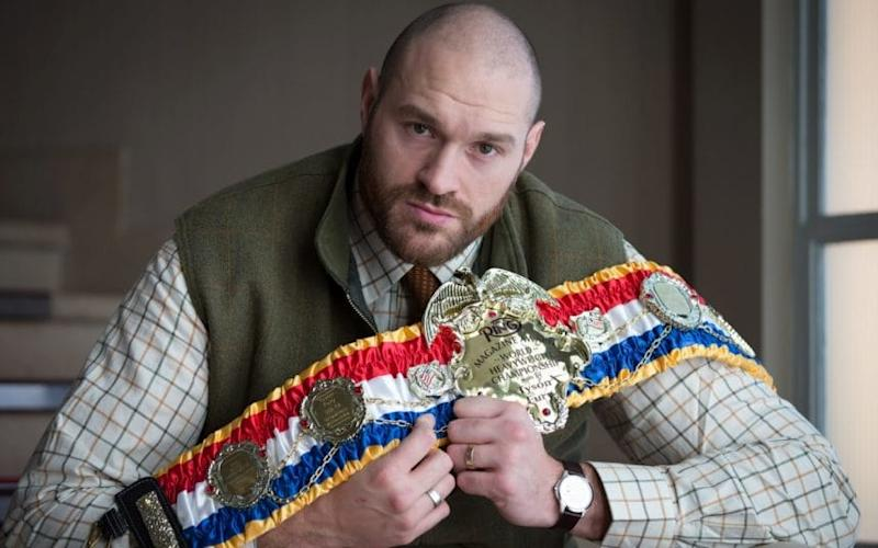 Tyson Fury has been told he can keep his Ring Magazine world heavyweight belt - Dave Thompson