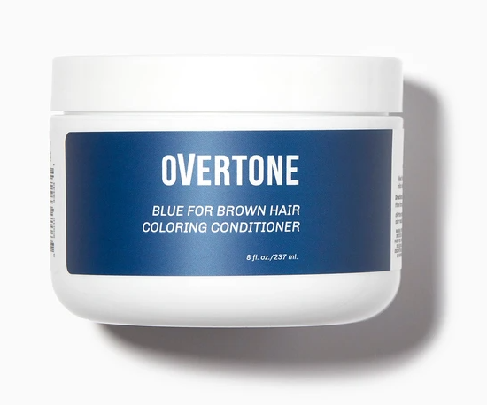 Overtone Colouring Conditioner in Blue (for brown hair)