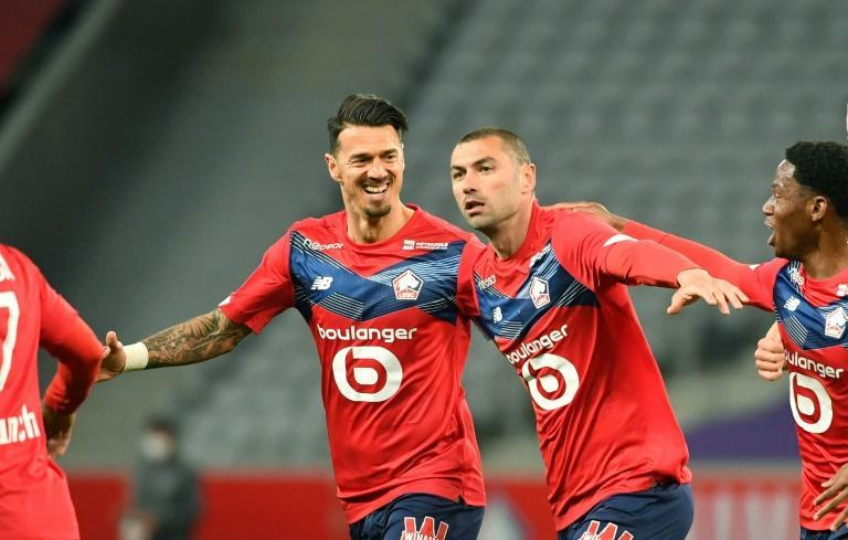 Burak Yilmaz has been key for Lille in their Ligue 1 title challenge