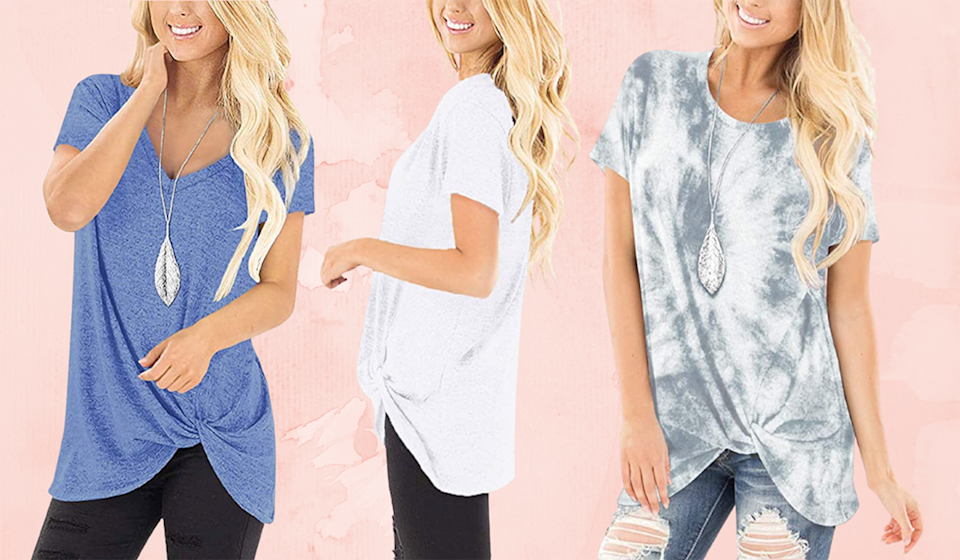 This adorable top needs to be in your closet ASAP. (Photo: Amazon)