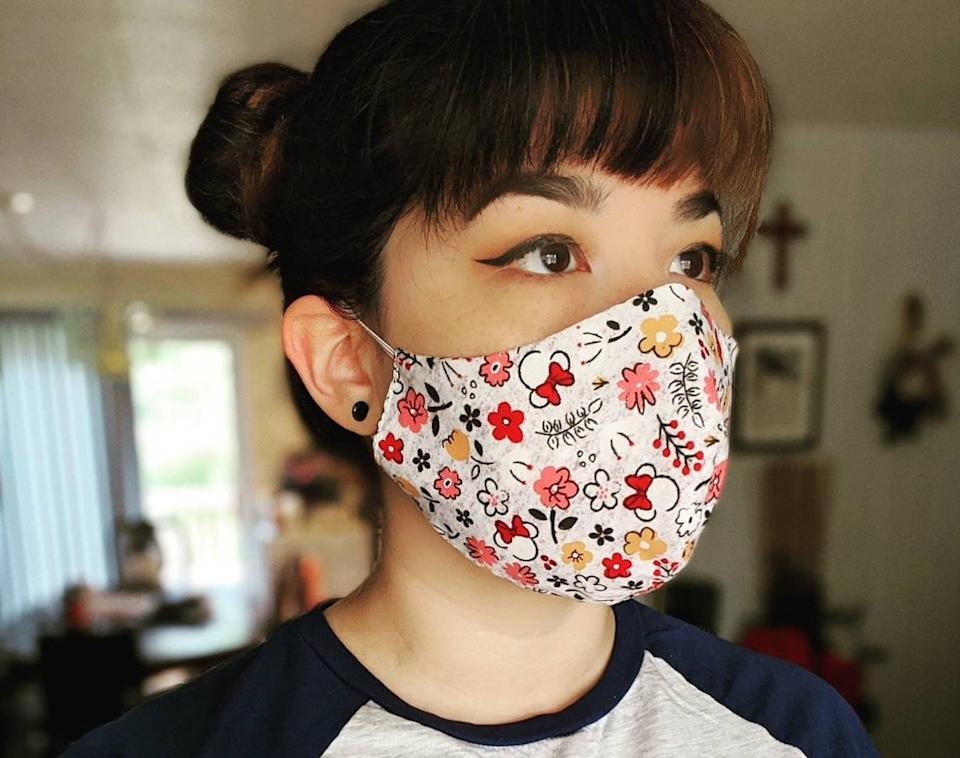 These masks are made in Los Angeles.  (Photo: Etsy)