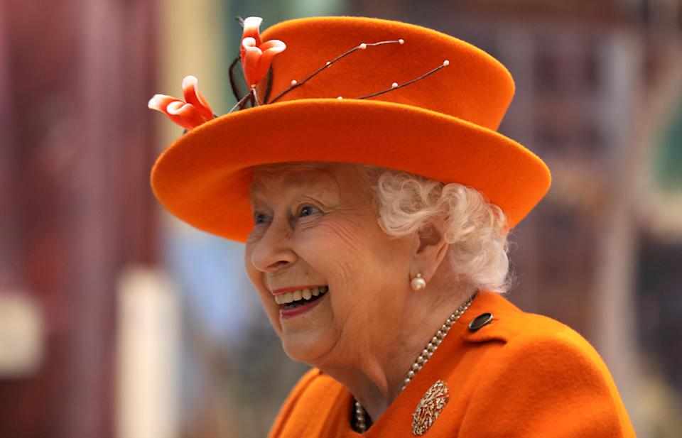 The Queen at the Science Museum last week [Photo: Getty]