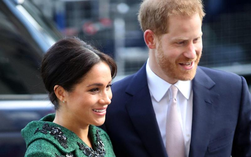 The Duke and Duchess of Sussex are expecting their first child - but what will they name the royal baby? Play our sweepstake - PA