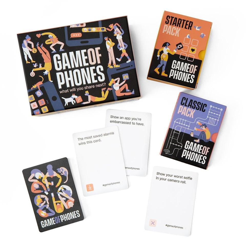 <p>The <span>Game of Phones Smartphone Scavenger Hunt</span> ($20) will be your favorite new game.</p>