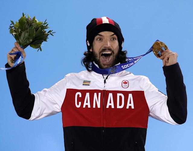 Charles Hamelin parlays grit and gut instinct into a record-tying Olympic gold medal