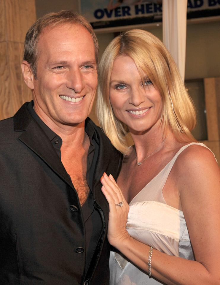 """Michael Bolton and Nicollette Sheridan decided to go their separate ways for a second time in August. The couple, who first dated from 1992-1997, reunited in 2005 and announced their engagement in 2006. Lester Cohen/<a href=""""http://www.wireimage.com"""" target=""""new"""">WireImage.com</a> - January 29, 2008"""