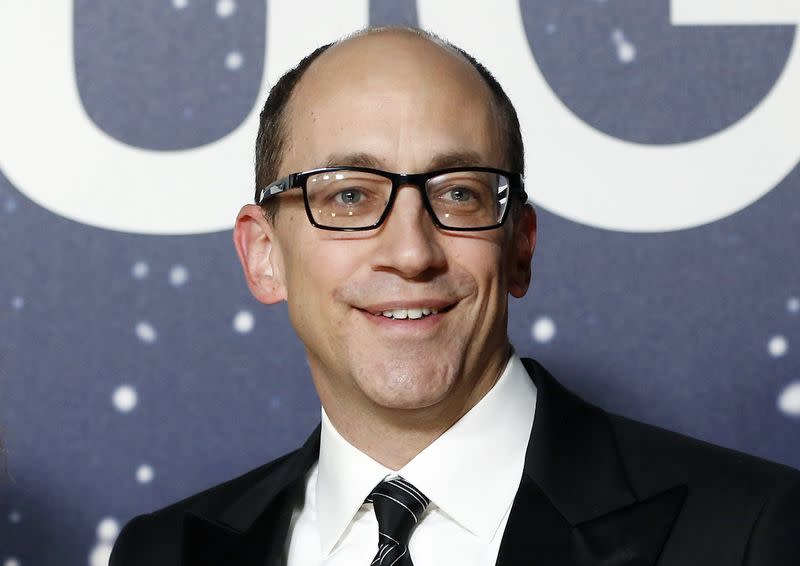 File photo of Twitter CEO Costolo poses on the red carpet during the second Annual Breakthrough Prize Awards in Mountain View