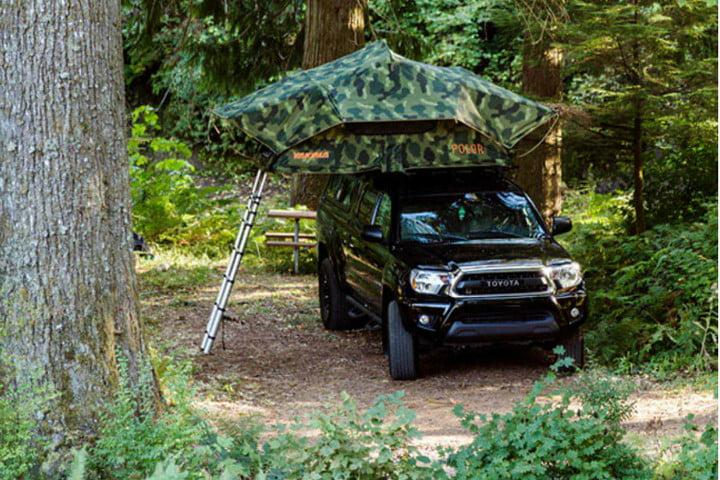 64a8b9ef44a Yakima's SkyRise Poler puts a stylish spin on the popular rooftop tent