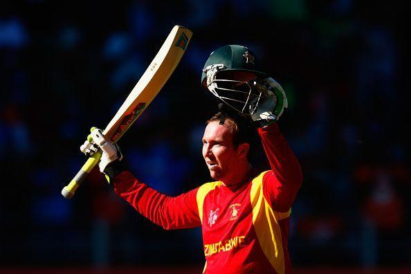 Brendan Taylor became the first Zimbabwe batsman to score twin centuries in a Test for two times