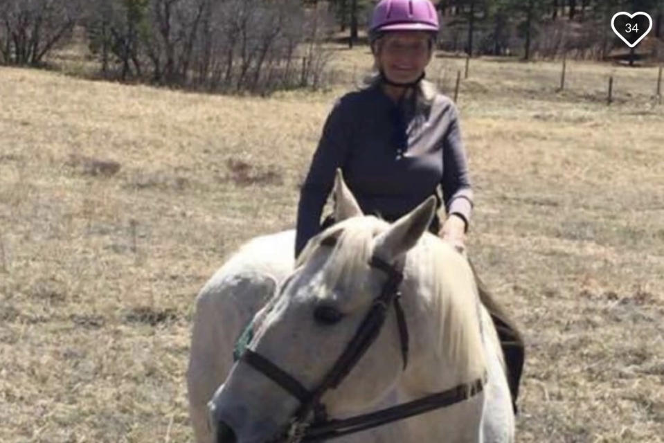 Linda Woolley was an avid equestrian and enjoyed horseback riding with her daughter. (Photo: GoFundMe)