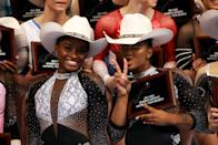 <p>Jordan is the youngest of five children! Her older siblings are named Jazmin, Jade, Tajmen and Tyrus. They have all graduated college and are adults now. (Photo by Jamie Squire/Getty Images)</p>