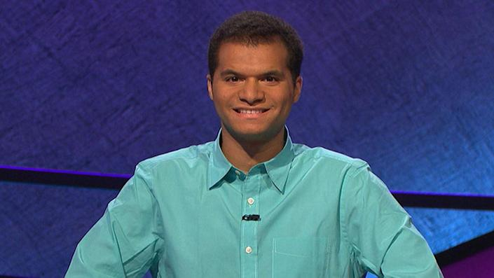 """<p>Washington D.C. paralegal Matt Jackson came to <em>Jeopardy!</em> in 2015 with a long history of quiz bowl championship experience at Yale. Those years paid off in his 11 game winning streak, which ultimately earned him $411,612. Known for his lightning speed on the buzzer, Jackson charmed fans by using his fingers to display his number of wins during the on-camera introductions—until he ran out of fingers. After his streak ended, Jackson <a href=""""https://variety.com/2015/tv/news/matt-jackson-jeopardy-winning-stream-1201617869/"""" rel=""""nofollow noopener"""" target=""""_blank"""" data-ylk=""""slk:donated"""" class=""""link rapid-noclick-resp"""">donated</a> 10% of his winnings to a variety of charities. </p>"""