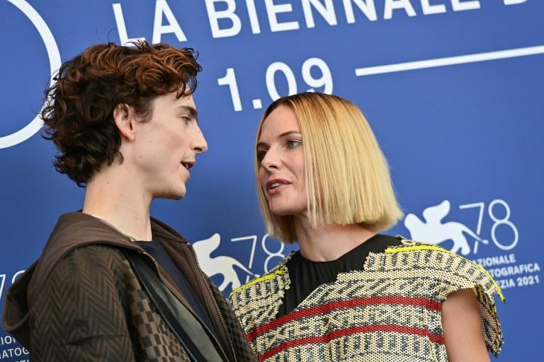 Rebecca Ferguson plays Chalamet's mystically empowered mother in the film (AFP/MIGUEL MEDINA)