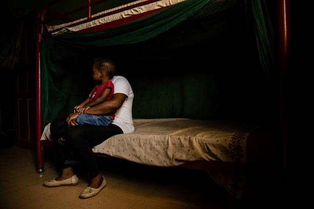 Nigerian women struggle to raise children born of Libya rape