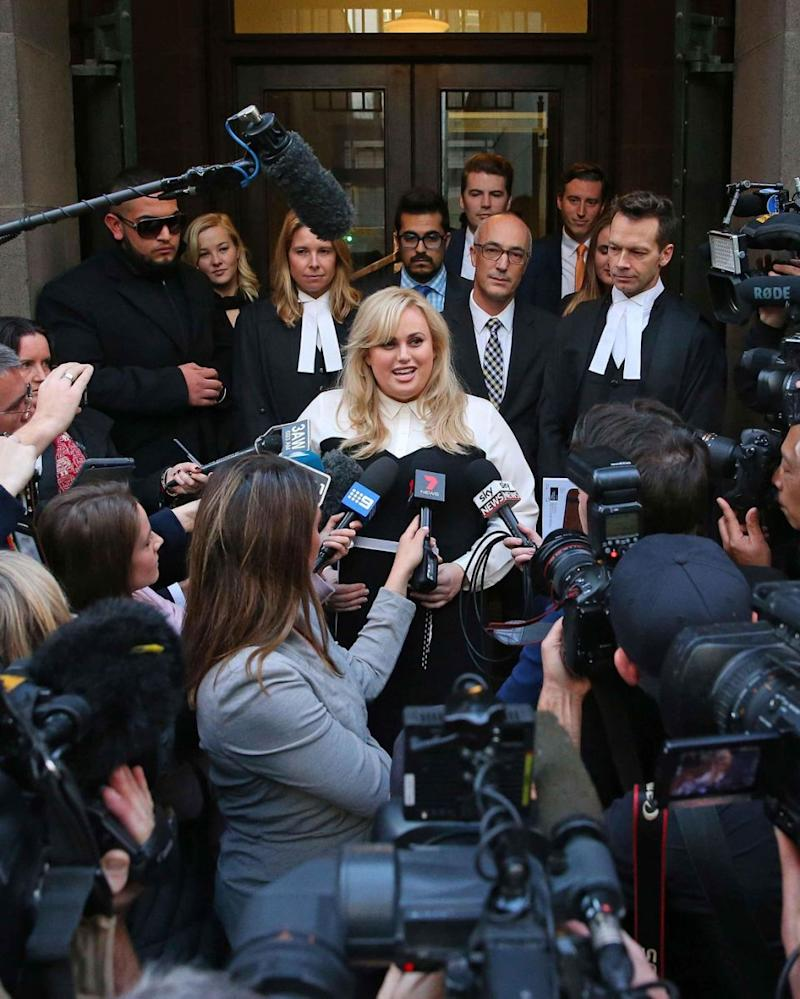 Rebel won the landmark case back in June. Source: Getty