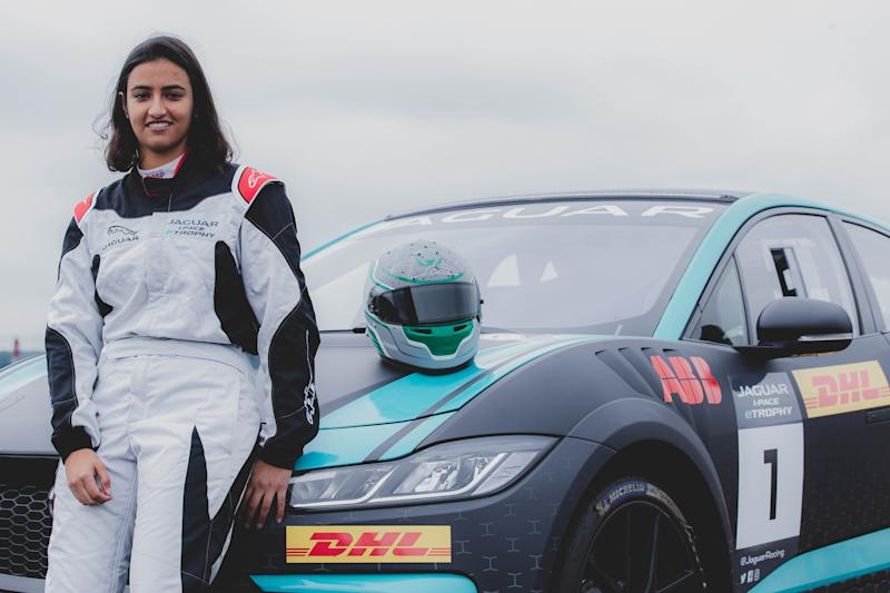 Reema Juffali will make history as the first Saudi Arabian female to race for her country.