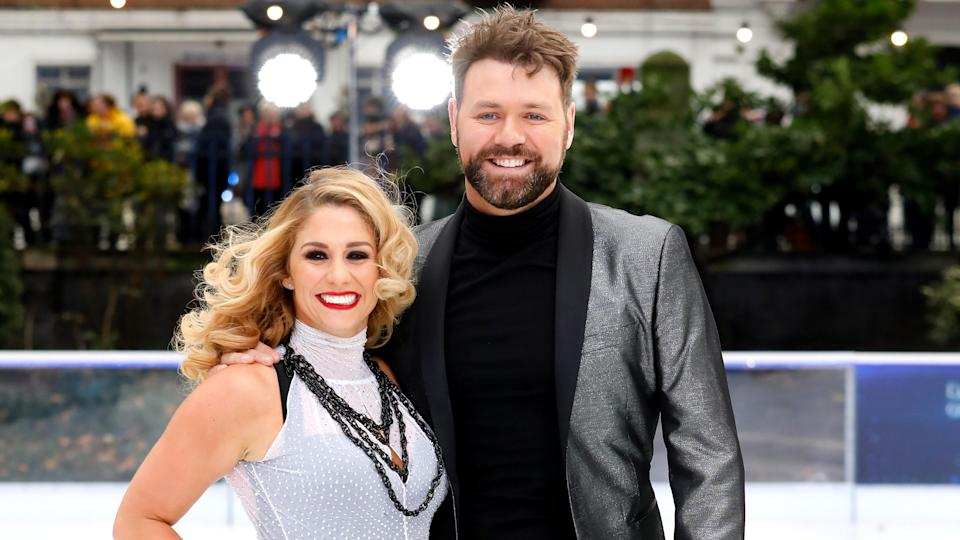 Brian McFadden on Dancing on Ice (PA Images)