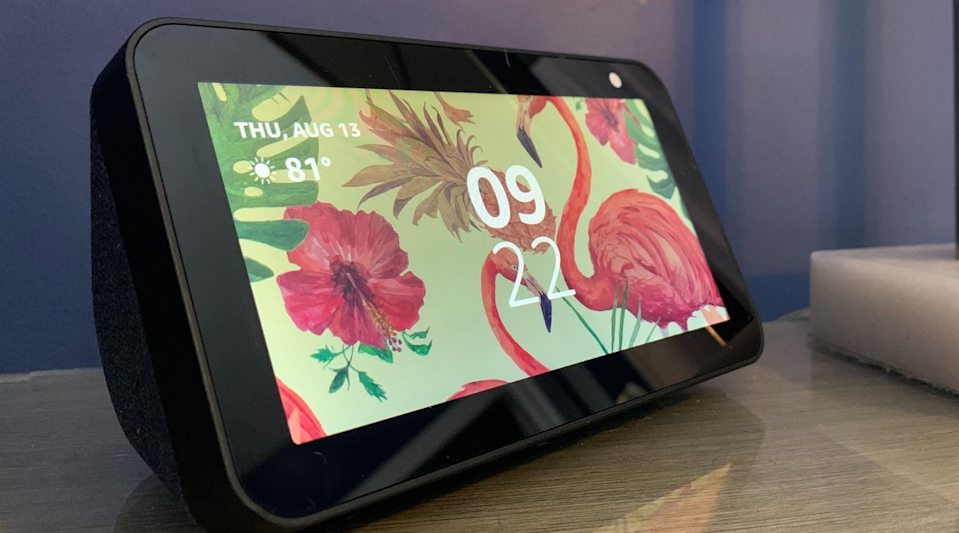 Amazon's Echo Show 5 is among the best smart home devices for apartment dwellers.