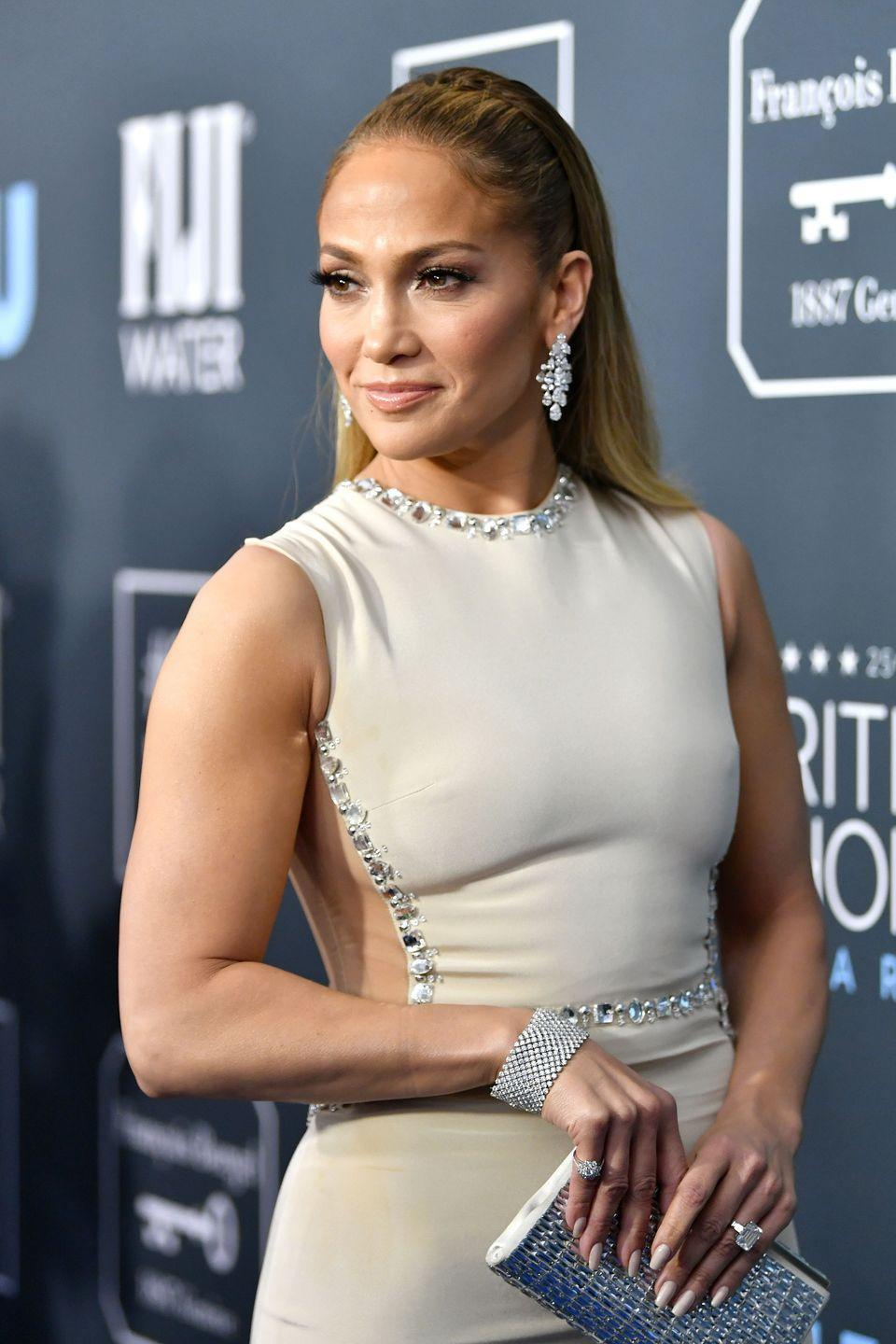 """<p>J.Lo enjoyed a taste of fame with her weekly TV gig as a dancer on <em>In Living Color </em>years before her first album, <em>On the 6</em>. Her debut single """"If You Had My Love"""" reached the top of the charts in several countries in 1999, and the rest is history.</p><p><a class=""""link rapid-noclick-resp"""" href=""""https://www.amazon.com/If-You-Had-My-Love/dp/B00137V6BG/ref=sr_1_1?tag=syn-yahoo-20&ascsubtag=%5Bartid%7C10063.g.30535280%5Bsrc%7Cyahoo-us"""" rel=""""nofollow noopener"""" target=""""_blank"""" data-ylk=""""slk:BUY NOW"""">BUY NOW</a></p>"""