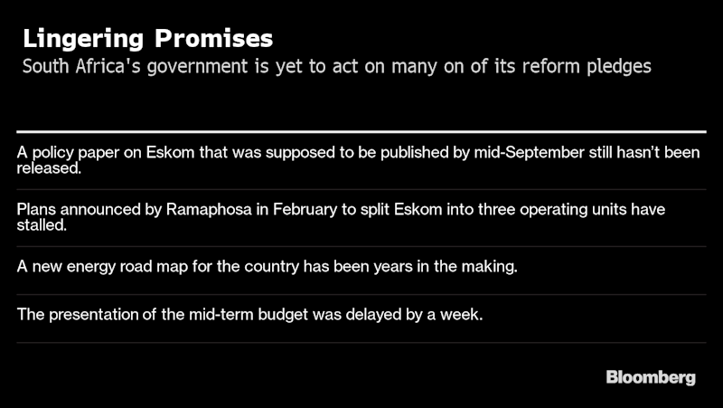 Budget Realities Pressure South Africa to Stop Policy Dithering
