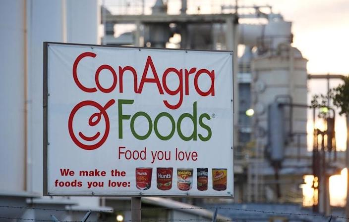 ConAgra Foods production facility is seen in Oakdale