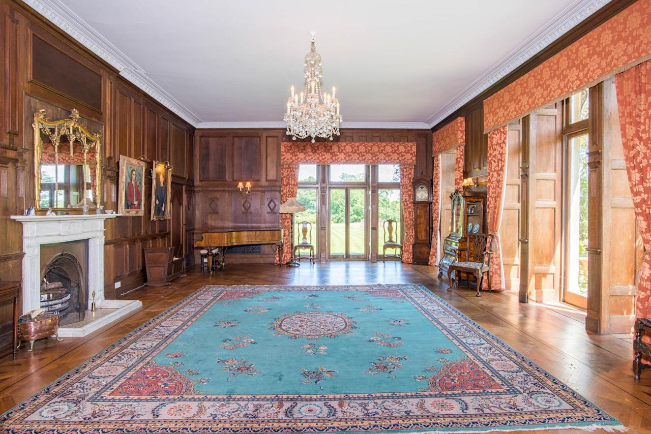 <p>The nine-bedroom mansion is now on the market for a whopping £5 million but five years ago it was being used to house the hit show's famous tent. </p>