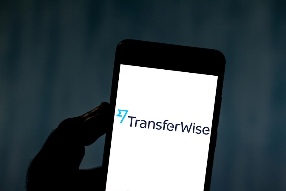 BRAZIL - 2019/06/01: In this photo illustration a TransferWise logo seen displayed on a smartphone. (Photo Illustration by Rafael Henrique/SOPA Images/LightRocket via Getty Images)