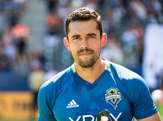 Gomez played his final season with the MLS champion Sounders. (Getty Images)