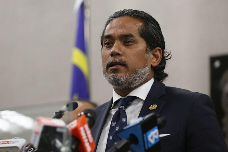 Science, Technology and Innovation Minister Khairy Jamaluddin  said the states have been given the authority to decide and no longer have to wait for permission from the federal Covid-19 Immunisation Task Force. — Picture by Yusof Mat Isa
