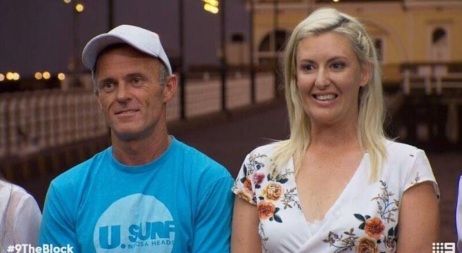 Jess and her partner Norm rose to fame on The Block. Photo: Channel Nine.