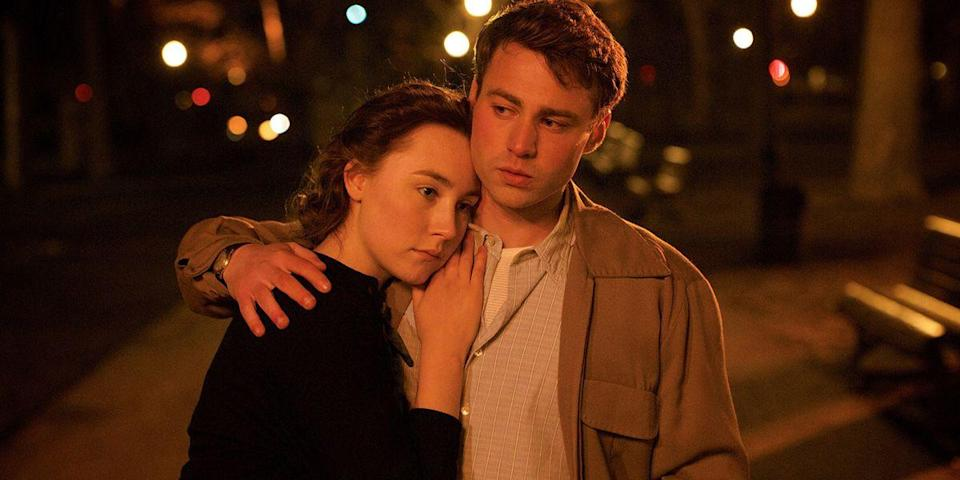 "<p>There's just something about Brooklyn. The New York City neighborhood has long been the backdrop of romantic films. Our favorite, though? This festival hit from John Crowley, starring Saoirse Ronan as an Irish immigrant who snuggles up to a Dodgers fan. <a class=""link rapid-noclick-resp"" href=""https://www.amazon.com/dp/B01A1IZJV0?tag=syn-yahoo-20&ascsubtag=%5Bartid%7C10056.g.6498%5Bsrc%7Cyahoo-us"" rel=""nofollow noopener"" target=""_blank"" data-ylk=""slk:Watch Now"">Watch Now</a></p>"