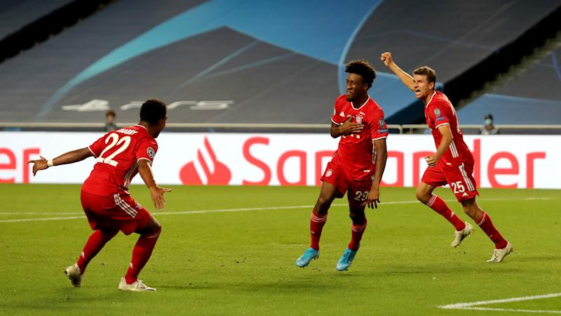Bayern Munich join Real Madrid & Barca in Champions League 500 goal club after Coman strikes in final