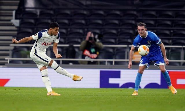 Scarlett has played three times for Spurs this season all as a 16-year-old
