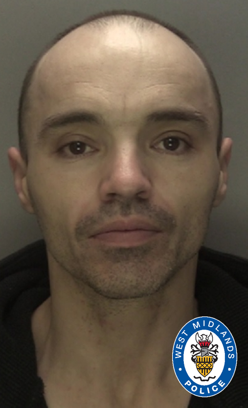 Wesley Carter admitted a series of offences. (West Midlands Police)
