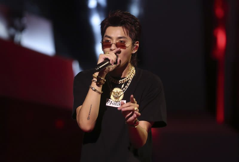 Kris Wu performs at the iHeartRadio MuchMusic Video Awards (MMVA) in Toronto