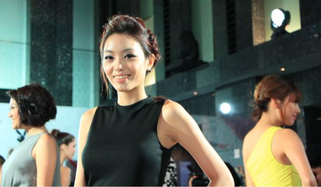 """23-year old Kyla Tan is one of the 14 contestants taking part in reality TV show """"Asia's Next Top Model"""". (Yahoo! photo/ Deborah Choo)"""