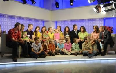 "The Duggars visit ""Today,"" New York, June 7, 2011 -- NBC"