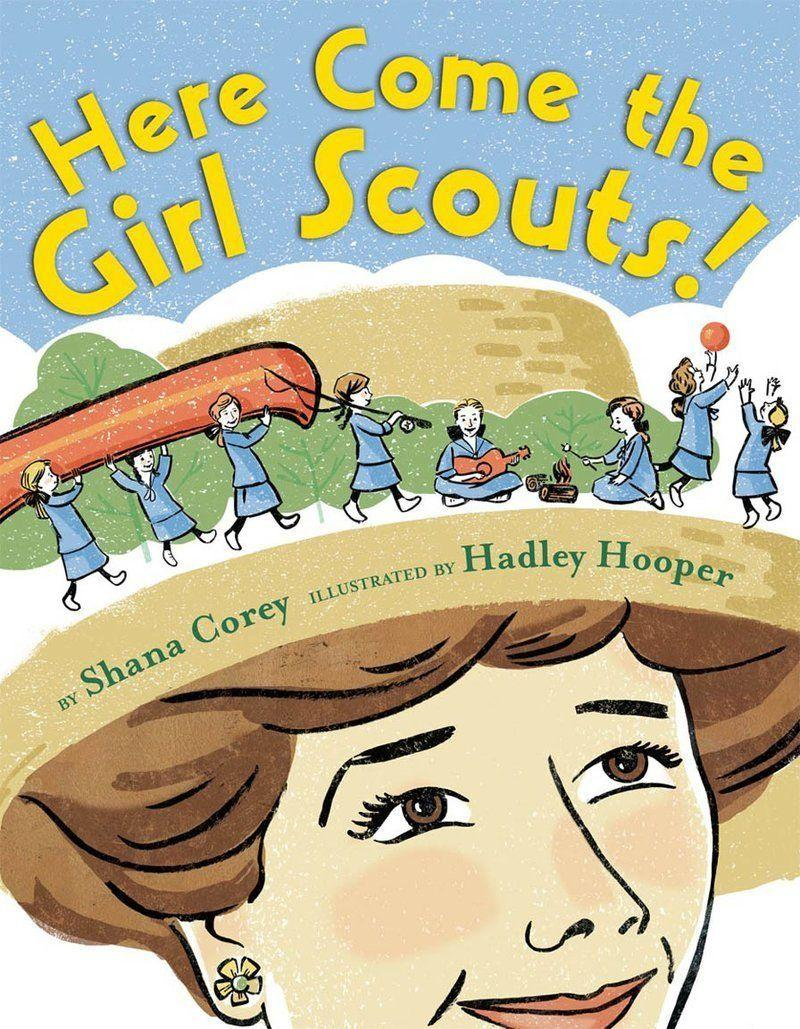 "Shana Corey shares the history of the Girl Scouts and the organization's founder, <a href=""http://www.girlscouts.org/en/about-girl-scouts/our-history/juliette-gordon-low.html"" target=""_blank"">Juliette Gordon Low</a>. (Illustrated by Hadley Hooper)"