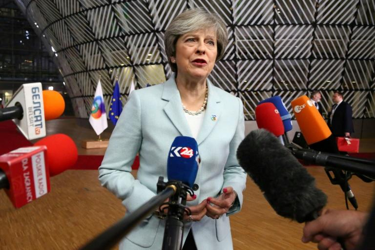 British Prime Minister Theresa May was in Brussels  on Friday seeking to unlock negotiations with the EU on a future trade deal