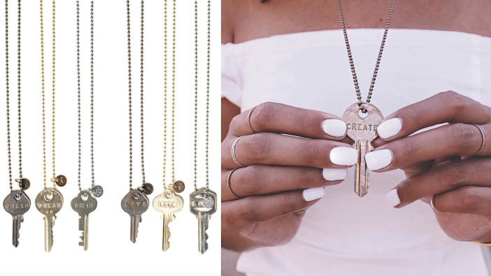 The Giving Keys jewelry.