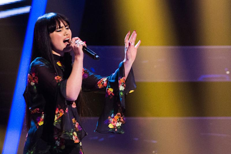 Saved: Truly Scrumptious Ford was chosen for Gavin Rossdale's team on The Voice UK: ITV
