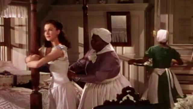 Vivien Leigh and Hattie McDaniel in <em>Gone With the Wind</em>. (Photo: MGM/Warner Bros.)