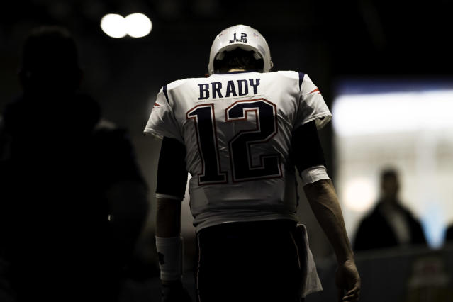 Tom Brady and the Patriots haven't had to play in the wild-card round since Jan. 10, 2010. (Getty Images)
