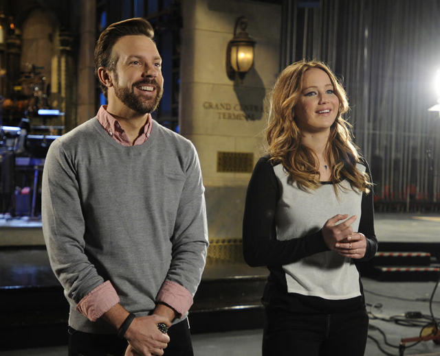 "Jennifer Lawrence hosts the eleventh episode of ""Saturday Night Live"" Season 38."