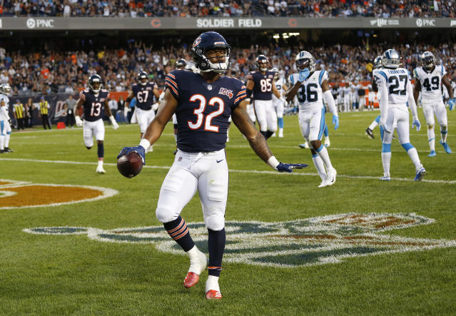 David Montgomery has the look of a workhorse running back. (Getty Images)