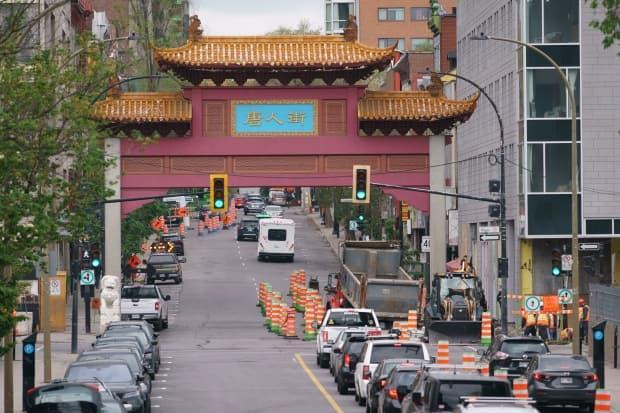 Community members in Chinatown have been calling for action from the municipal and provincial governments to protect the future of the area. (Ivanoh Demers/Radio-Canada - image credit)