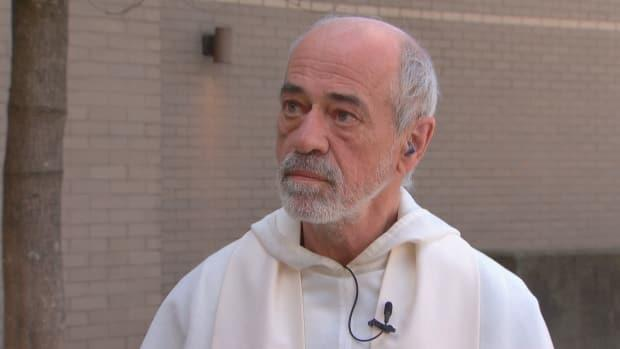 Father Guy Rivard of St. Mary's Catholic Church in Vancouver says he was relieved the province suspended indoor religious gatherings as COVID-19 cases spike in B.C.
