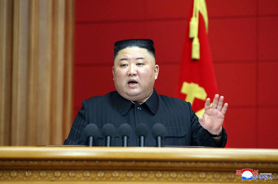 """North Korean leader Kim Jong-un has told Beijing he hopes to develop the two countries' relationship into one """"envied by the world"""". Photo: AFP/KCNA via KNS"""