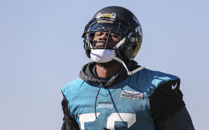 Rams make trade-deadline deal for Jaguars pass rusher Dante Fowler